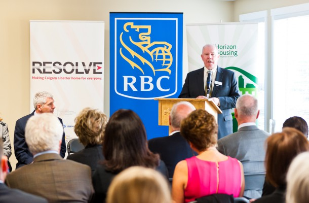 RBC Gift Announcement to Horizon Housing Society