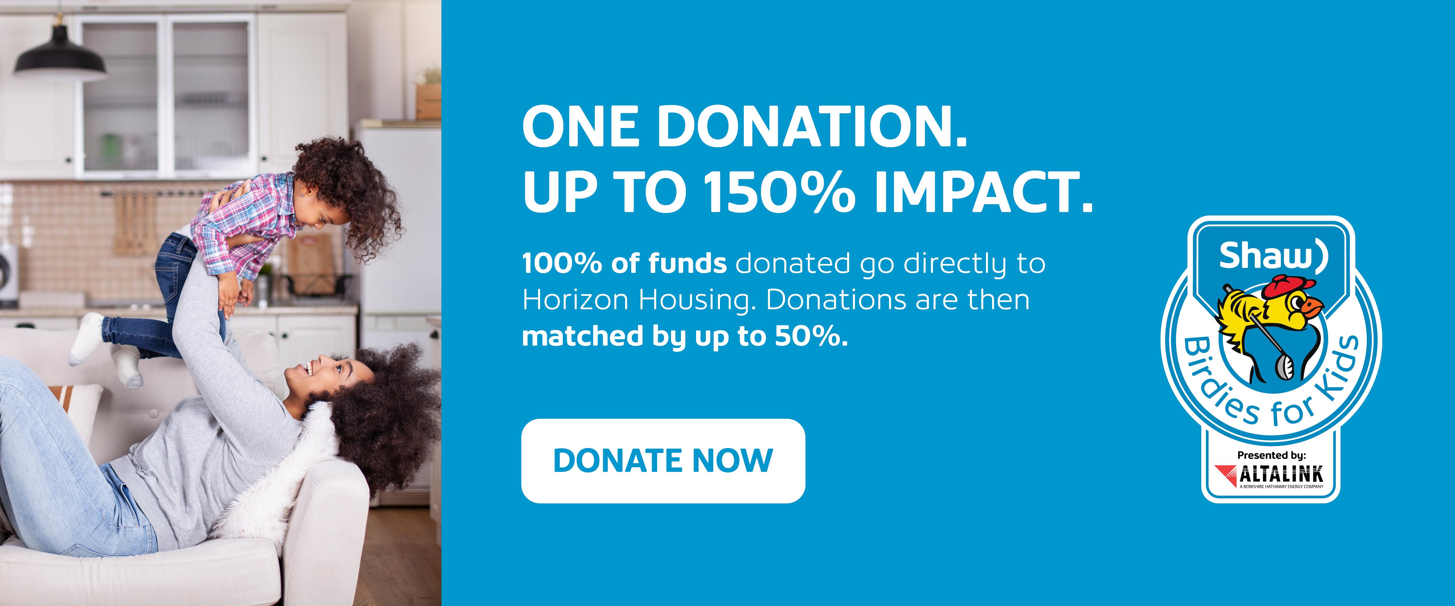 Donate through birdies for kids